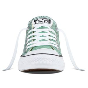 Converse CT AS OX Chuck Taylor All Star metallic grün – Bild 3