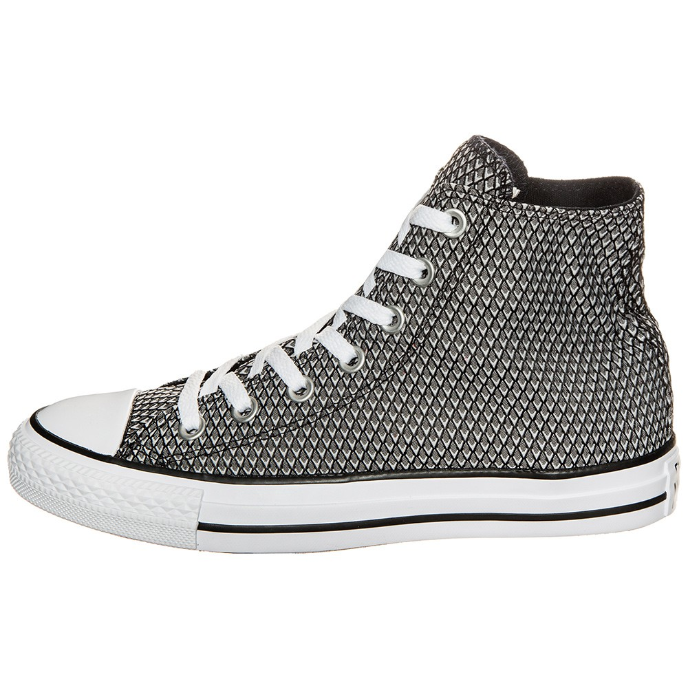 separation shoes 61c11 7a479 Converse CT AS HI Chuck Taylor All Star schwarz weiß grau
