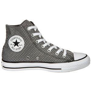 Converse CT AS HI Chuck Taylor All Star schwarz weiß grau – Bild 2