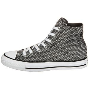 Converse CT AS HI Chuck Taylor All Star schwarz weiß grau
