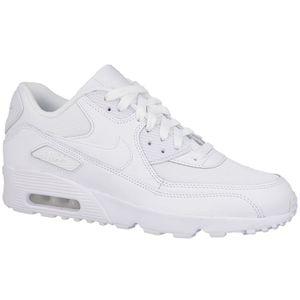Nike Air Max 90 Mesh GS Sneaker weiß – Bild 2