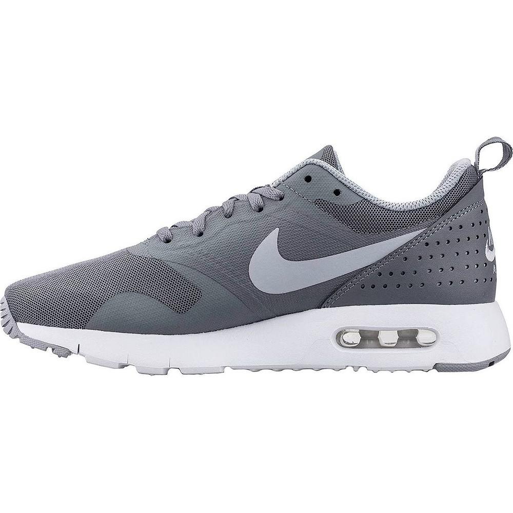 nike air max tavas schwarz and grey