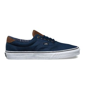 Vans Era 59 Canvas Sneaker Herren Cord & Plaid blau – Bild 2