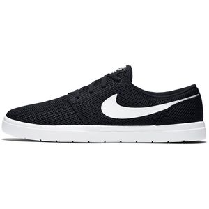 Nike SB Portmore II Ultralight Skateboard Sneaker schwarz weiß