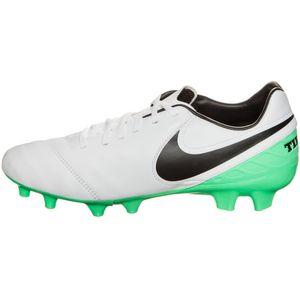 Nike Tiempo Legacy II FG Herren Fußballschuh weiß grün
