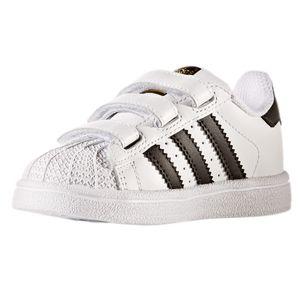 adidas Superstar Foundation CF I Kinder Sneaker weiß Klett – Bild 5