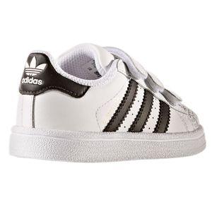 adidas Superstar Foundation CF I Kinder Sneaker weiß Klett – Bild 6
