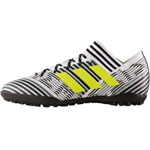 adidas Nemeziz Tango 17.3 TF Fußballschuh weiß schwarz gelb – Bild 1