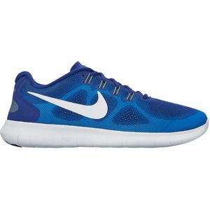Nike Free RN 2017 Herren Running Sneaker blau weiß – Bild 2