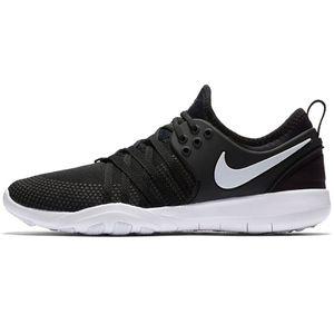 Nike WMNS Free TR 7 Damen Running schwarz weiß – Bild 1