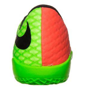 Nike JR HypervenomX Phelon III IC Fußballschuh grün orange – Bild 3