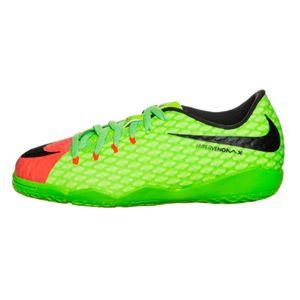 Nike JR HypervenomX Phelon III IC Fußballschuh grün orange – Bild 1