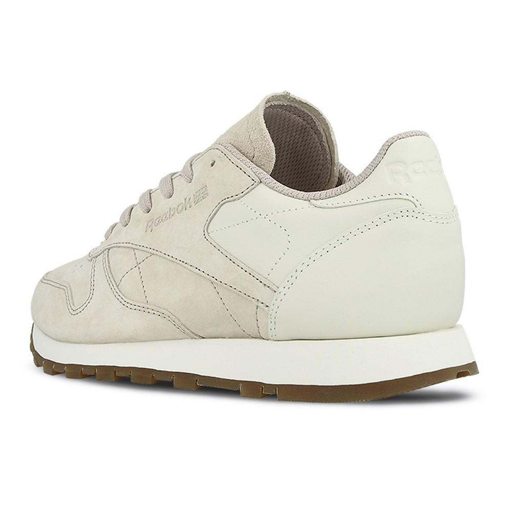Reebok Classic Leather EB Damen Sneaker beige rosa