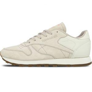 Reebok Classic Leather EB Damen Sneaker beige rosa – Bild 1