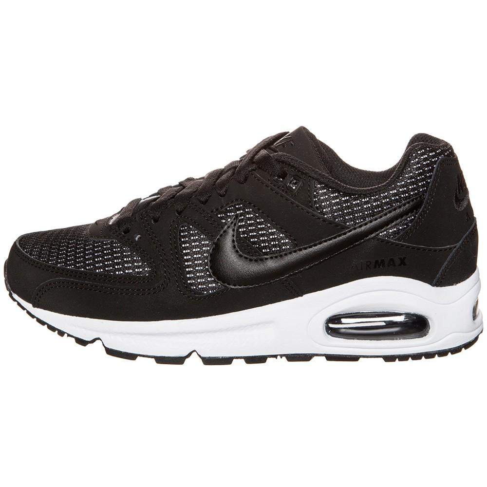 Nike WMNS Air Max Command Damen Sneaker schwarz weiß