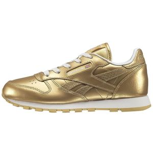 Reebok Classic Leather Metallic Kinder Sneaker gold – Bild 1