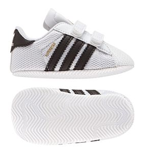 adidas Originals Superstar Crib Baby Kinder Sneaker weiß schwarz  – Bild 6
