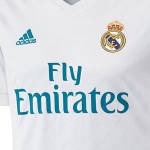 adidas Real Madrid Home Jersey Trikot 17/18 weiß  – Bild 6