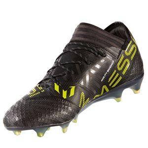 adidas Nemeziz Messi 17.1 FG Herren Fußballschuh schwarz weiß gelb – Bild 3