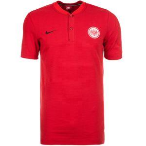 Nike Eintracht Frankfurt Modern Authentic Polo Herren rot  – Bild 1