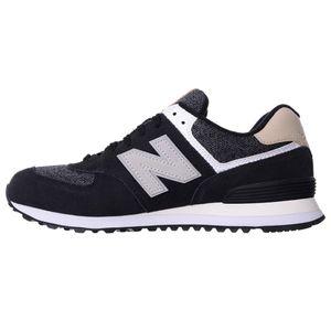 New Balance ML574VAI Herren Sneaker schwarz grau – Bild 1