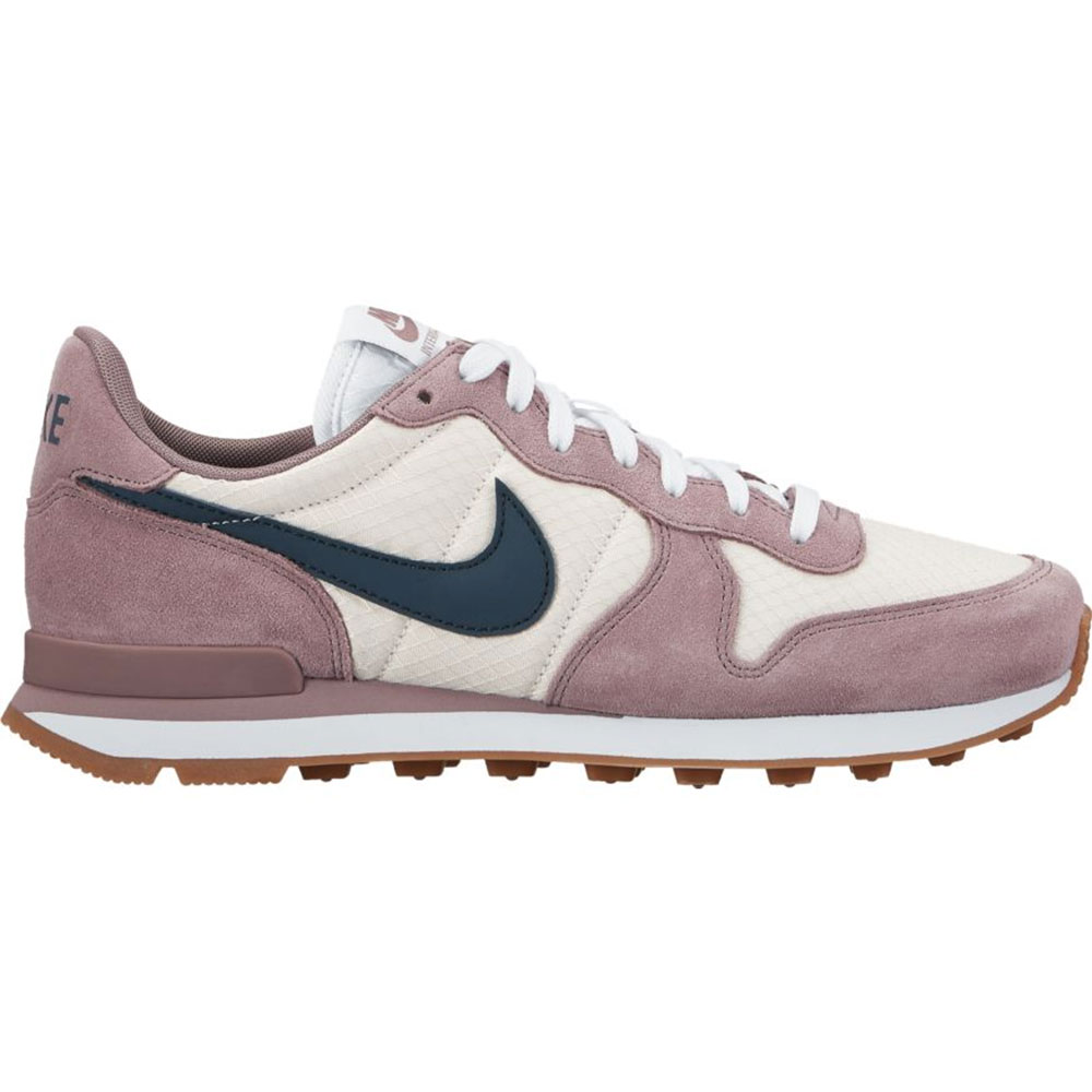 nike wmns internationalist damen sneaker beige lila. Black Bedroom Furniture Sets. Home Design Ideas