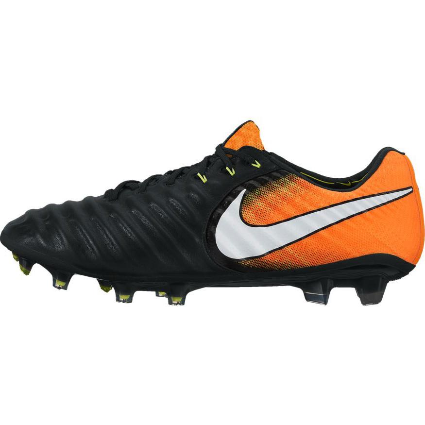 Nike Tiempo Legacy Iii Fg Herren Fussballschuh Schwarz Orange