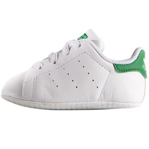 adidas Originals Stan Smith Crib Baby Sneaker weiß grün