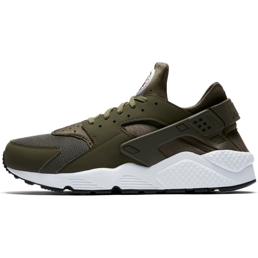 the latest e0a02 f931c Nike Air Huarache Herren Sneaker olive weiß