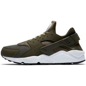 Nike Air Huarache Herren Sneaker olive weiß