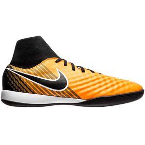 Nike Magista X Onda II DF IC Hallenschuh orange schwarz
