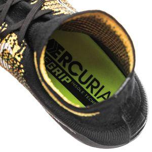 Nike JR Mercurial Superfly V DF FG Fußballschuhe orange schwarz – Bild 4