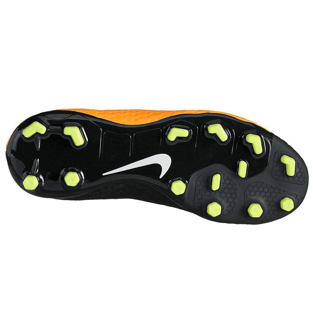 Nike JR Hypervenom Phelon 3 DF FG Fußballschuh orange schwarz