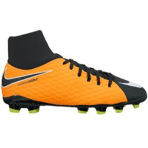 Nike JR Hypervenom Phelon 3 DF FG Fußballschuh orange schwarz – Bild 1