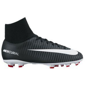 Nike JR Mercurial Victory VI DF FG Fussballschuh schwarz weiß – Bild 1