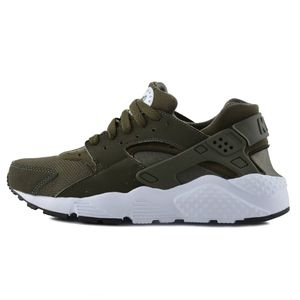 Nike Air Huarache Run GS Sneaker oliv – Bild 2