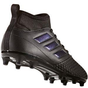 adidas ACE 17.3 FG J Kinder Fußballschuhe Nocken schwarz – Bild 3