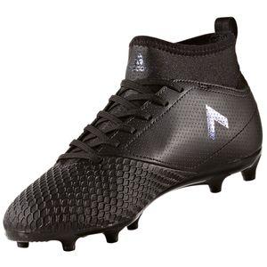 adidas ACE 17.3 FG J Kinder Fußballschuhe Nocken schwarz – Bild 2