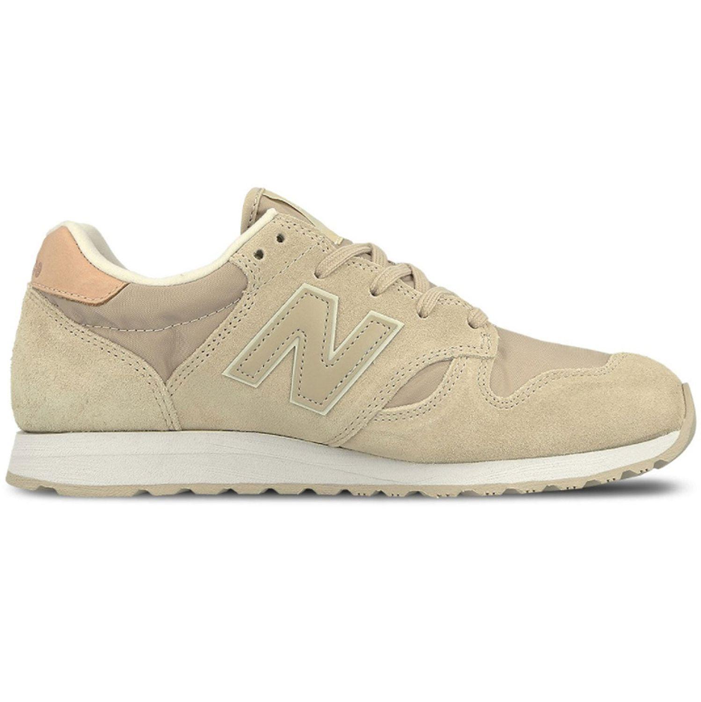 Details zu New Balance WL520BS Damen Sneaker beige