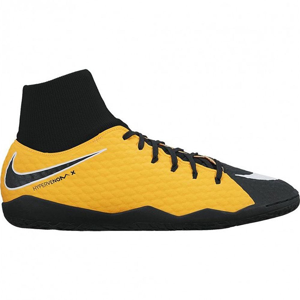 Nike HypervenomX Phelon III DF IC Fußballschuh gelb schwarz