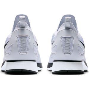 Nike Air Zoom Mariah Flyknit Racer Running Sneaker weiß schwarz – Bild 4