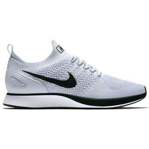 Nike Air Zoom Mariah Flyknit Racer Running Sneaker weiß schwarz