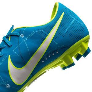 Nike JR Mercurial X Victory VI NJR FG Fussballschuh blau weiß gelb  – Bild 4