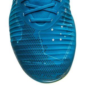 Nike JR Mercurial Vapor XI NJR FG Fussballschuh blau gelb – Bild 3