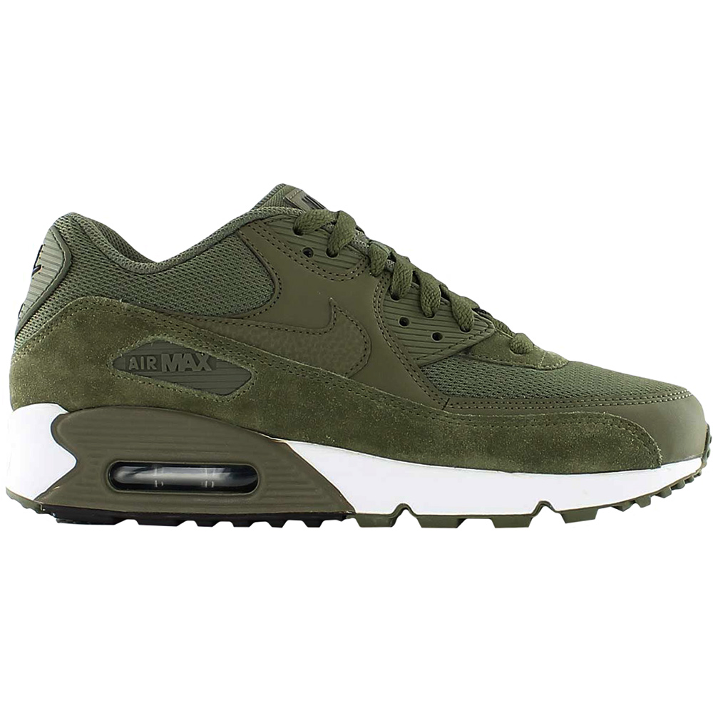 nike air max 90 essential herren sneaker oliv gr n wei. Black Bedroom Furniture Sets. Home Design Ideas