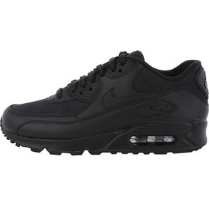 Nike WMNS Air Max 90 Leather Damen Sneaker schwarz – Bild 2