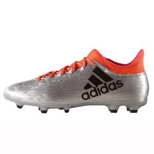 adidas X 16.3 FG Herren Fußballschuh silber orange – Bild 2