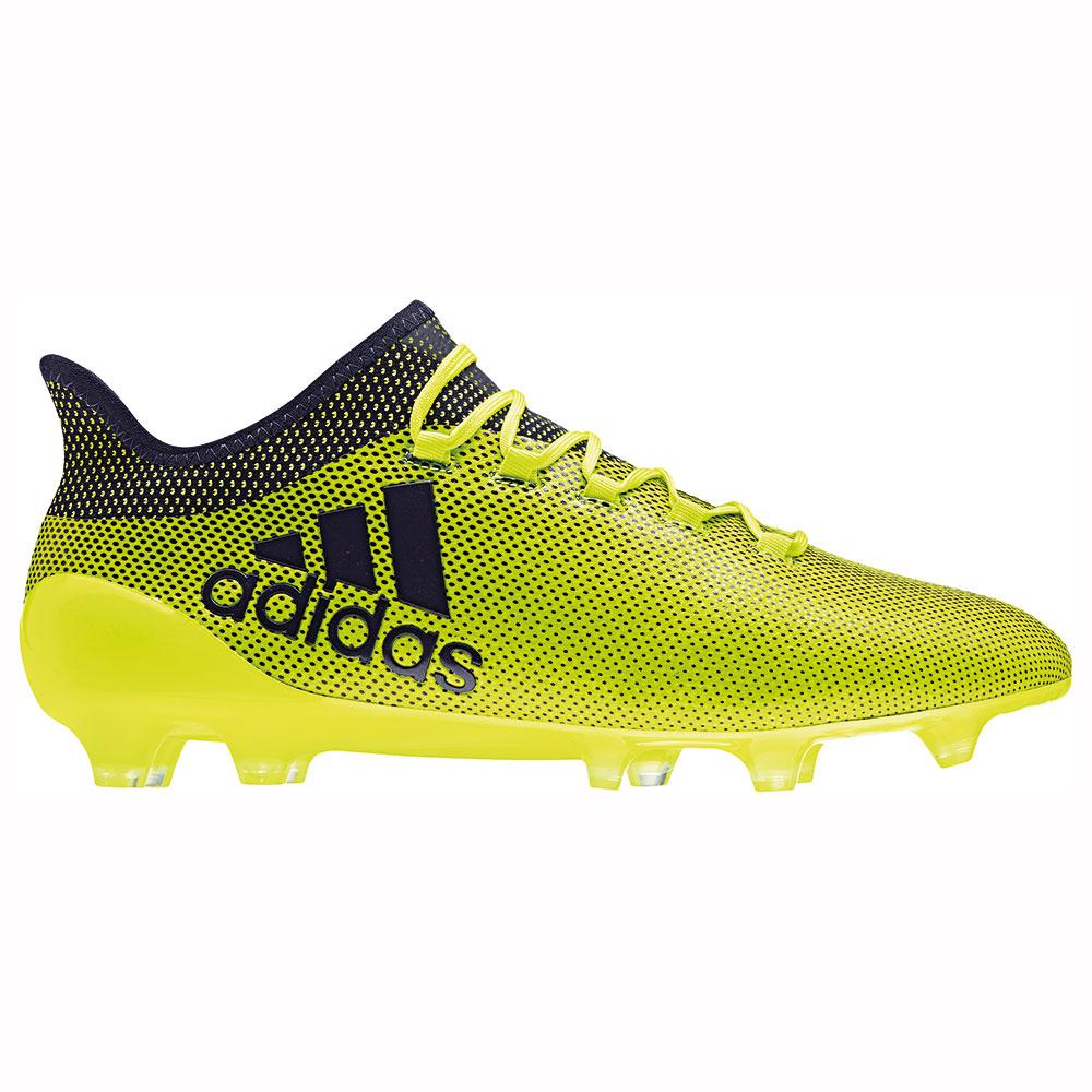 adidas X 17.1 FG Herren Fußballschuh Nockenschuh gelb schwarz