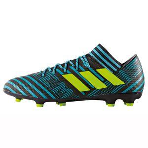adidas Nemeziz 17.3 FG Herren Fußballschuh schwarz türkis gelb – Bild 2