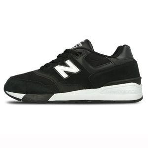 New Balance ML597AAC Herren Sneaker schwarz weiß   – Bild 2